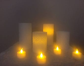 Flame-less Candle Set