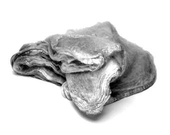 Mawatas Silk Hankies Dove Grey - 17 grams