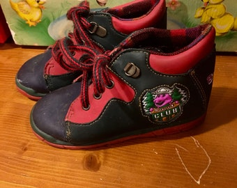 90s Barney Shoes Toddler 9