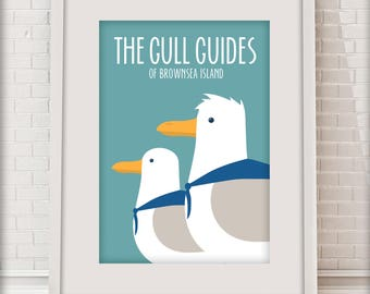 The Gull Guides of Brownsea Island, Love Dorset collection