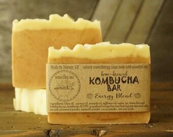 Raw Kombucha Soap | SCOBY Soap, Artisan Soap, Homemade Soap, Citrus Soap, Tea Soap, Kombucha Tea Soap, All Natural Soap