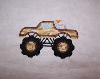 Monster truck #2 two sizes 4x4 & 5x7