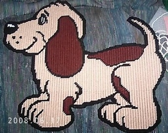Beagle Puppy Plastic Canvas Pattern