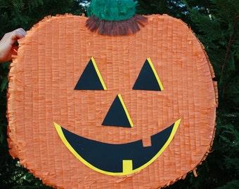 Jack o' Lantern Pinata - Halloween Pinata