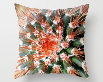 Cactus Pillow, Throw Pillow, Southwest Decor