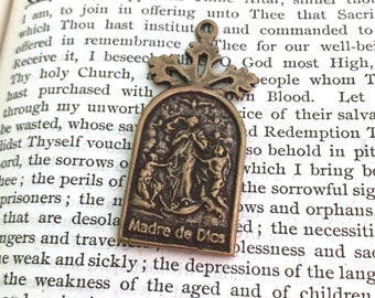 Mary Undoer of Knots Medal - Untier of Knots - Bronze or Sterling Silver - Made in the USA  (M12-1246)