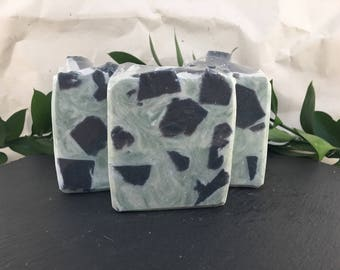 Peppermint Bark Vegan Cold Process Soap