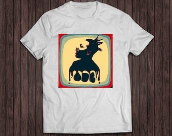 Ol Dirty Bastard white shirt, ODB shirt, Wu Tang Clan Shirt, Wu Wear