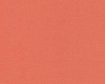 Nectarine Kona Cotton Solid 25cm