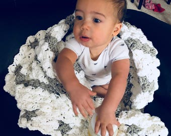 Super Soft Chunky Baby Blanket
