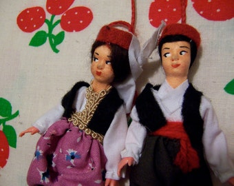 miniature collectable dolls set one