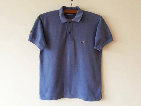 Orange Lacoste Polo Shirt Short Sleeve Summer Chemise Polo Golf Shirt Orange Preppy Singlet Size Small Lacoste Polo Made In France dQrNWltR3W