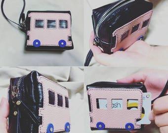 Mini bus pouch -PDF Template(A4)