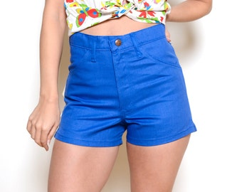 Deadstock 70's Dee Cee High Waisted Shorts Sz 29W