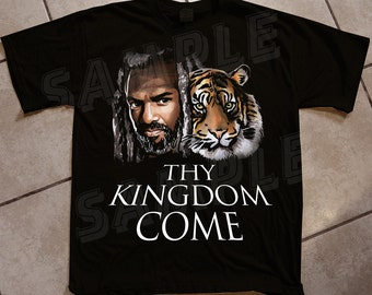 CYBER MONDAY - Thy Kingdom Come Tee - Walking Dead Inspired