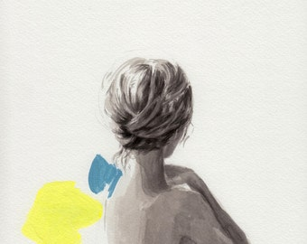 In Place .  giclee art print available in all sizes