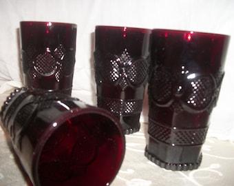 Avon Cape Cod Drinking Glasses