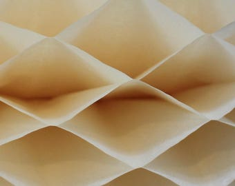 6-pack Ivory Honeycomb Paper Popup Craft Pad (7 inches X 9 inches each)