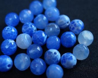 25 beads 8 mm H0211 DRAGON vein