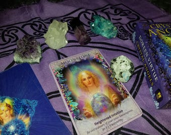 What Crystal Do you Need Right Now? Crystal Angels Oracle - 1 Card Reading - With Optional Crystal!
