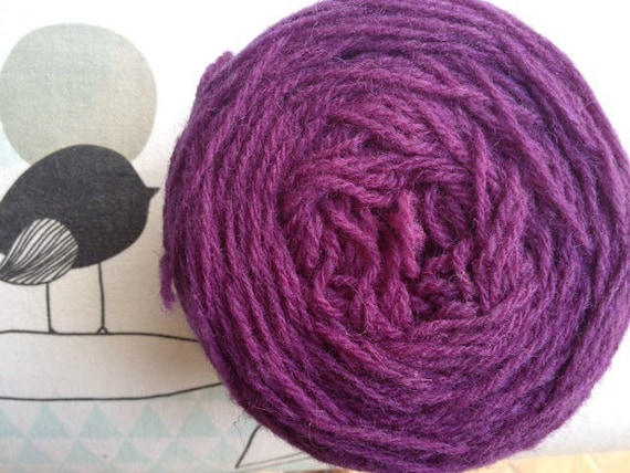 Rustic plum - FLEECES BRETON wool