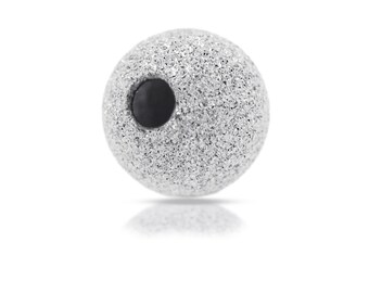 Sterling Silver 4mm Stardust Beads - 100pcs 20% Discounted (2020)/5
