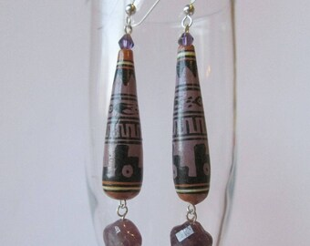 Long Boho Style Earrings