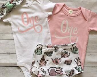 NEW! Kensington's ONEderland/Organic Infant Shorties Set/OrganicToddler Shorties Set