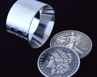"""One 1.5"""" x 1.6"""" @ 17 degrees Universal Folding/Reduction Die Hardened Stainless Steel"""