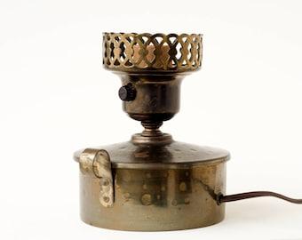 Brass Lamp Vintage Retro