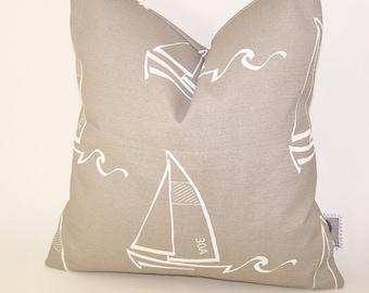 Beige Outdoor Pillow -  Tan PILLOW - Outdoor - Various Sizes - Boat - Nautical - Seashore - Beach - Cove - Accent Pillow - 20x20,18x18,22x22