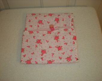 Changing Table Pad Pink Floral