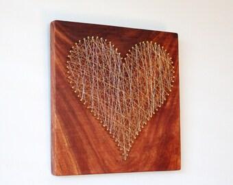 Love + Wire //  Mahogany