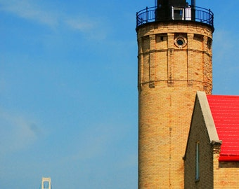 The View From My Lighthouse 8x10 in (20.3 cm x 25.4 cm) Fine Art Print