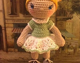 Fiona Doll Amigurumi Crochet Pattern