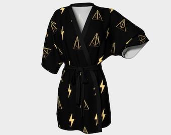 Scar Hallows Kimono Robe
