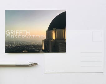 Griffith Observatory Postcard *PROMO 3 for 2*