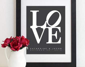 Valentines Day Wedding Gift for Couples, Anniversary Gift Newlywed Engagement Gift for Her Him Husband Wife Personalized Family Gift