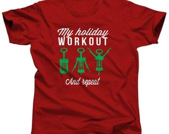 Ugly Christmas Shirt - Wine Shirt - Funny Christmas - Merry Christmas - Christmas Tshirt - Ugly Sweater Party - Holiday Shirt - Xmas Shirt