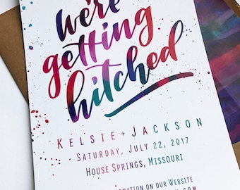 Customizable Printable Save the Date