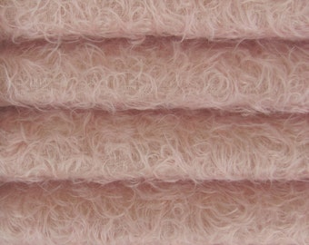 Quality 325S/CM - Mohair-1/4 yard (Fat) in Intercal's Color 588S-Pale Pink. A German Mohair Fur Fabric for Teddy Bear Making, Arts & Crafts