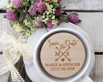 Arrow-Wood-Wedding-Magnets, Wedding-Magnets, Wooden Magnet, Wooden-Save-The-Date-Magnet, Wooden Save The Date Magnet, Arrow Magnet