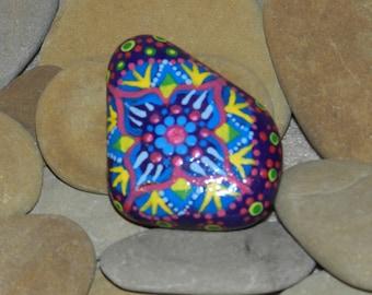 Colorful Painted Mandala