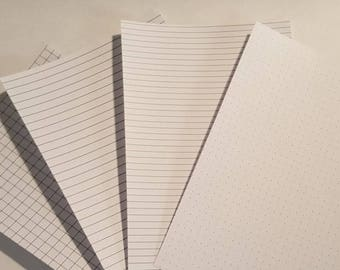 PRINTED Tip In Underlay for Tomoe River Vellum or Tracing paper