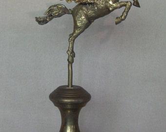 Sculpture originale de Pegasus Bronze coulé avec Base