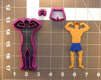 Male Athlete 266-412 Cookie Cutter Set