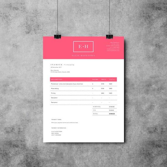 Diseño de plantilla de factura Recibo Plantilla MS Word