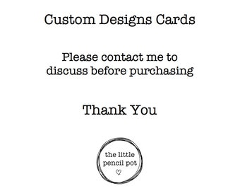 Custom Square Cards