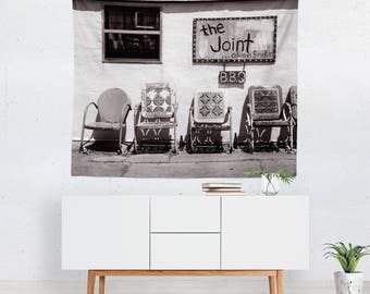 Photo Wall Tapestry, Rustic Tapestries, Hippie Wall Tapestry, Dorm Room Tapestry, New Orleans Decor, Large Tapestry, Photo Tapestries