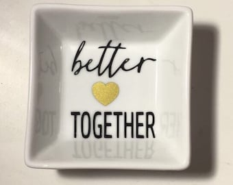 Better together ring dish